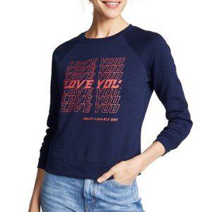 Rebecca Minkoff Love You Jennings Sweatshirt NWT